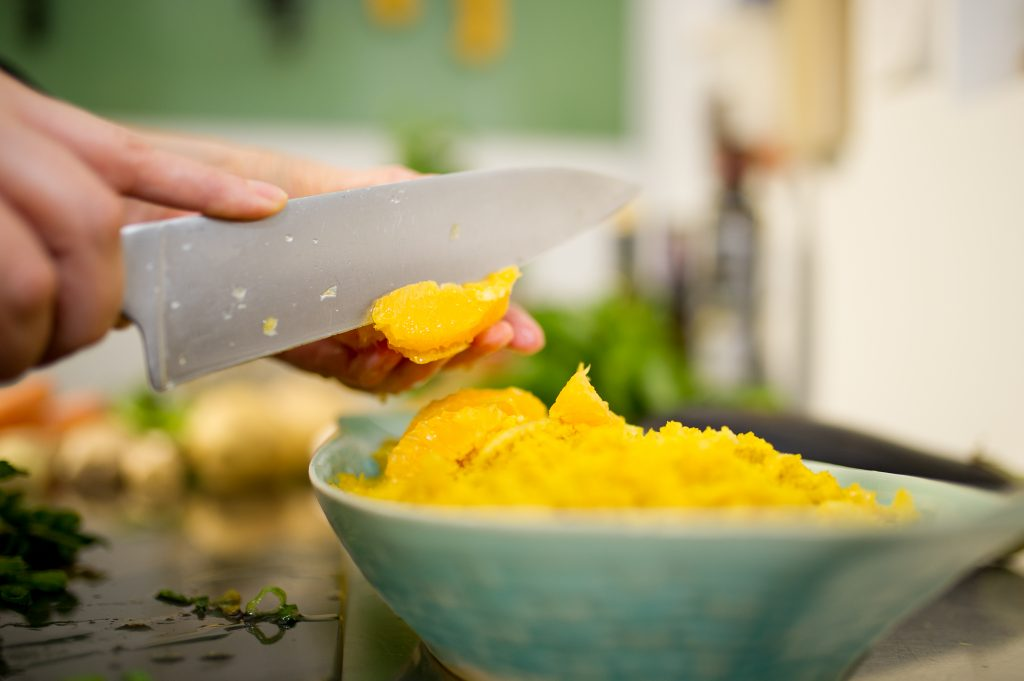 Orangen Couscous